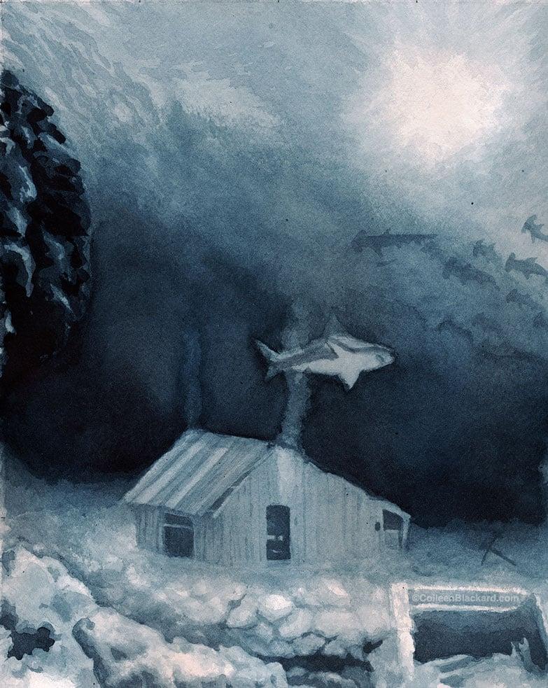 Image of Sunken Depths (Ink Version)