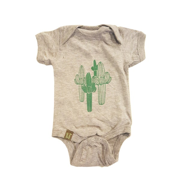 Image of Saguaro ) Infant Fine Jersey Bodysuit