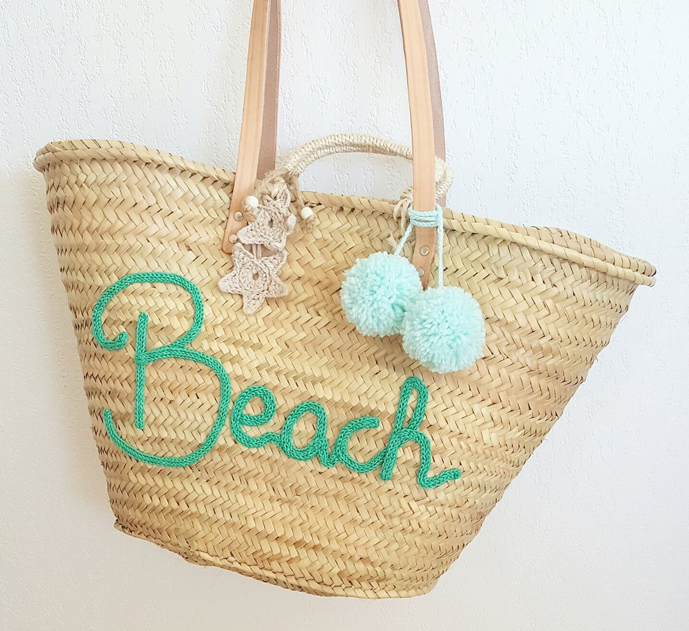 Image of Capazo Personalizado Grande / Big Beach Bag