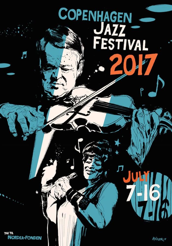 Image of Festival poster – Copenhagen Jazz Festival 2017