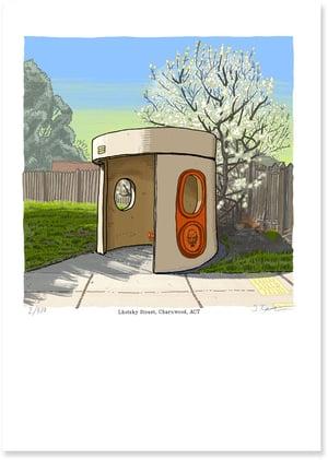 Image of Charnwood, Lhotsky Street, digital print
