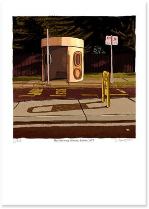 Image of Kaleen, Maribyrnong Avenue, digital print