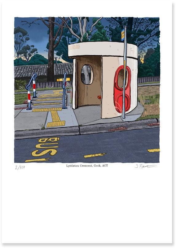 Image of Cook, Lyttleton Crescent, digital print