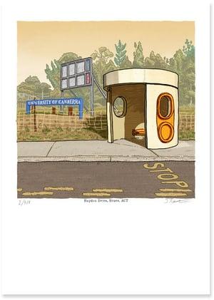 Image of Bruce, Haydon Drive, digital print