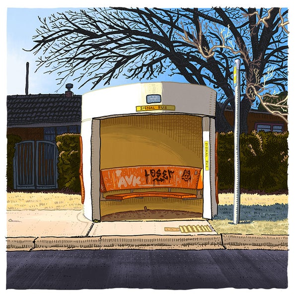 Image of Ainslie, Chisholm Street, digital print
