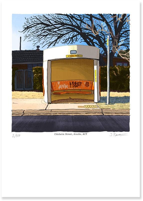 Image of Ainslie, Chisholm Street, digital print