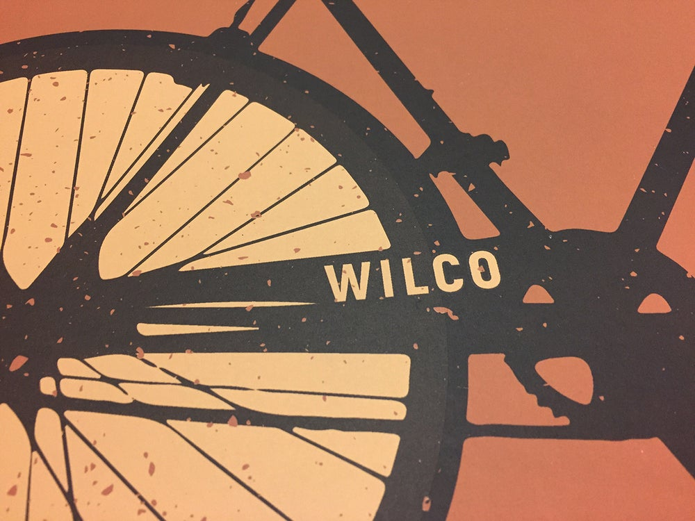 Wilco The Bicycle City Poster