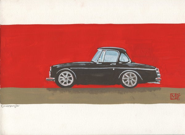 The Roadster - Matt Q. Spangler Illustration