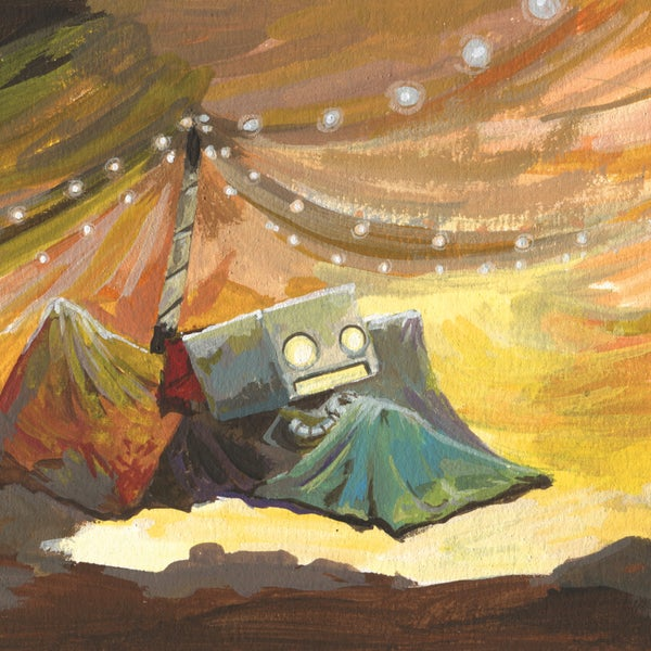 The Blanket Fort - Matt Q. Spangler Illustration