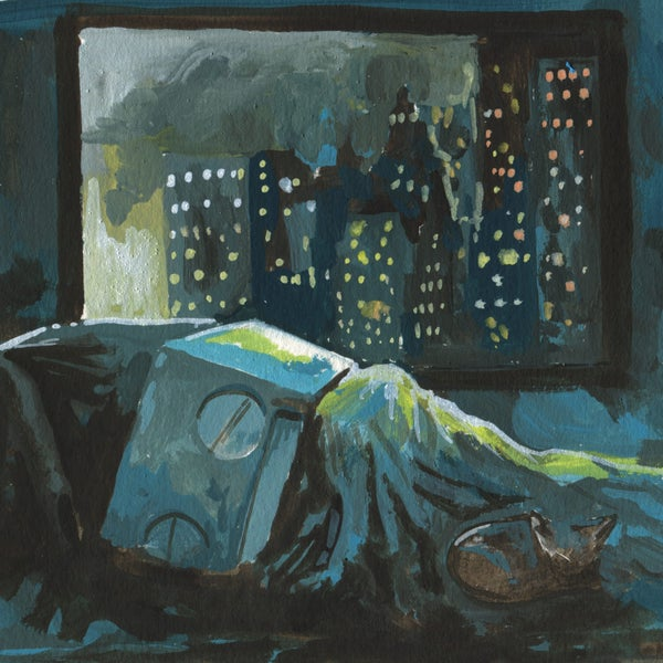 City Sleep - Matt Q. Spangler Illustration