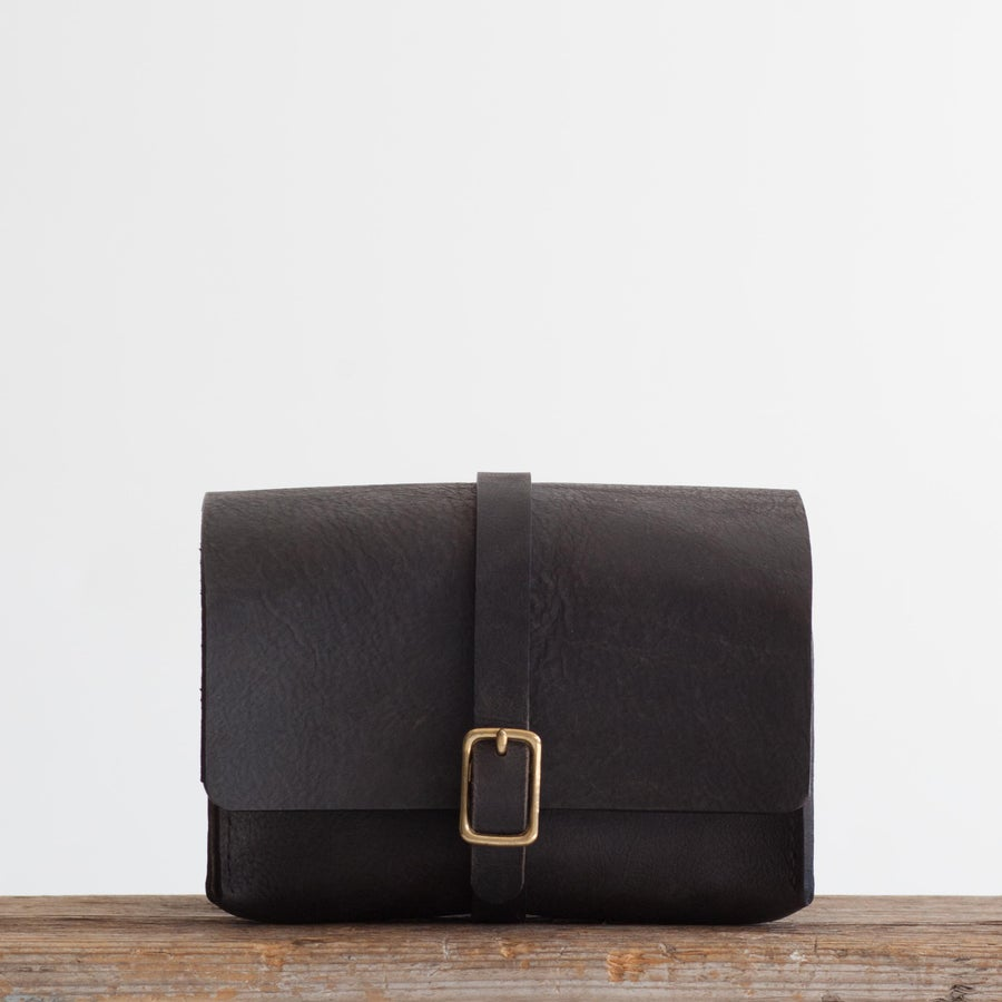 Image of Black Dopp Kit