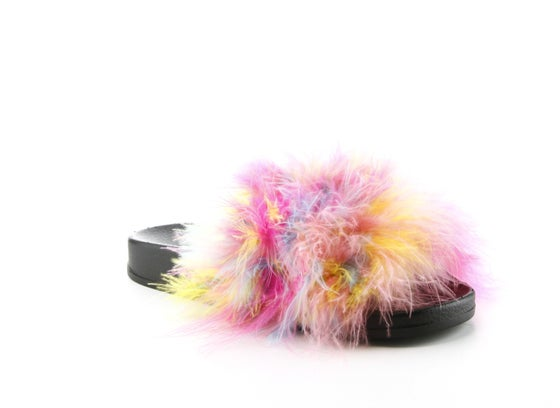 Image of real fur slides