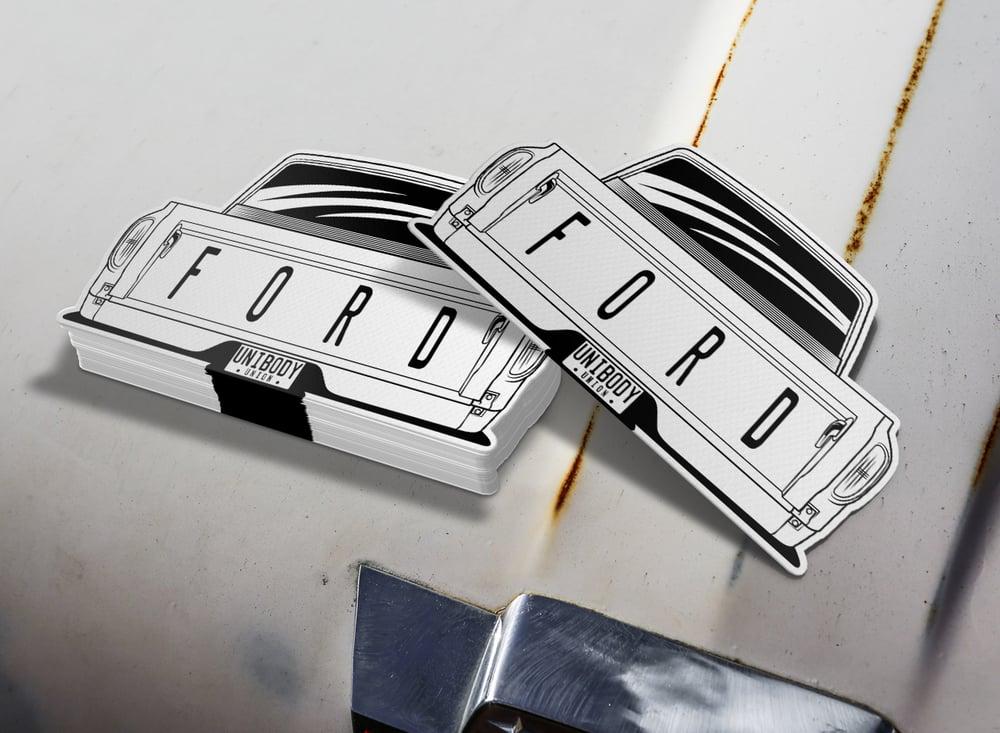 Image of Big Back Window F100 Rear Sticker