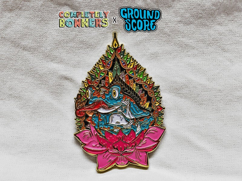 Image of Completely Bonkers - Pineal Frog 3D Pin (LE 50)