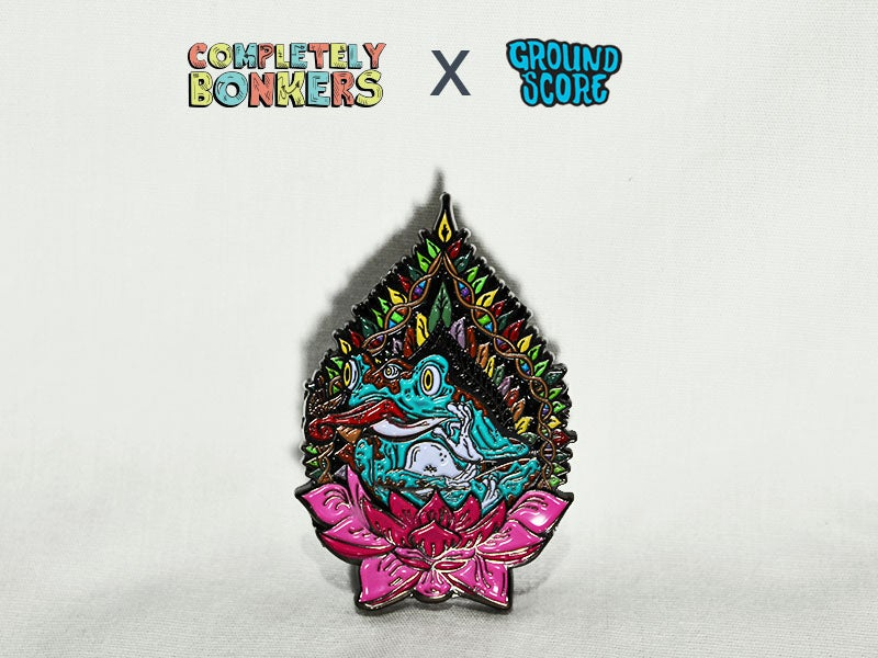 Image of Completely Bonkers - Pineal Frog 3D Pin (LE 150)