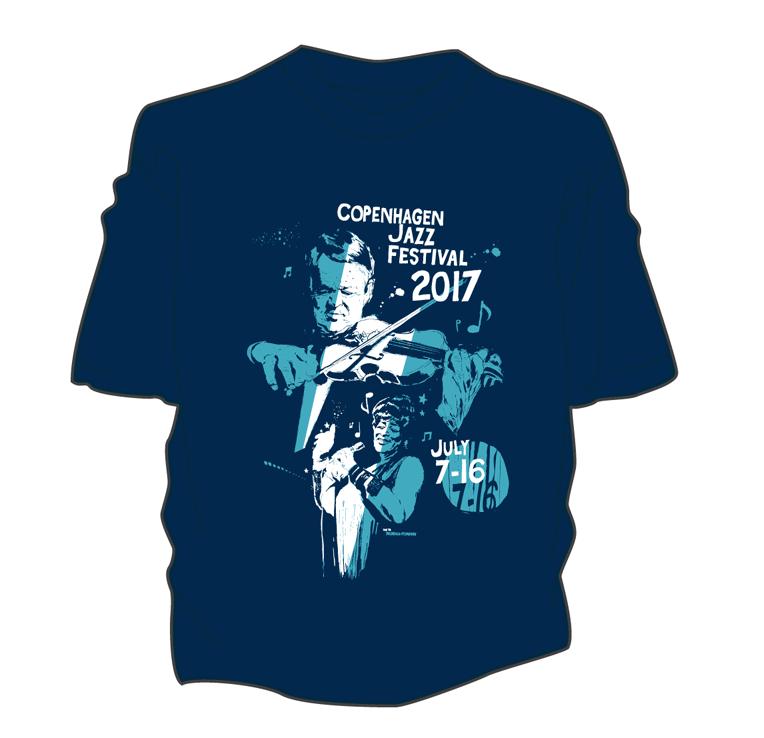 Image of Øko T-Shirt – Copenhagen Jazz Festival 2017