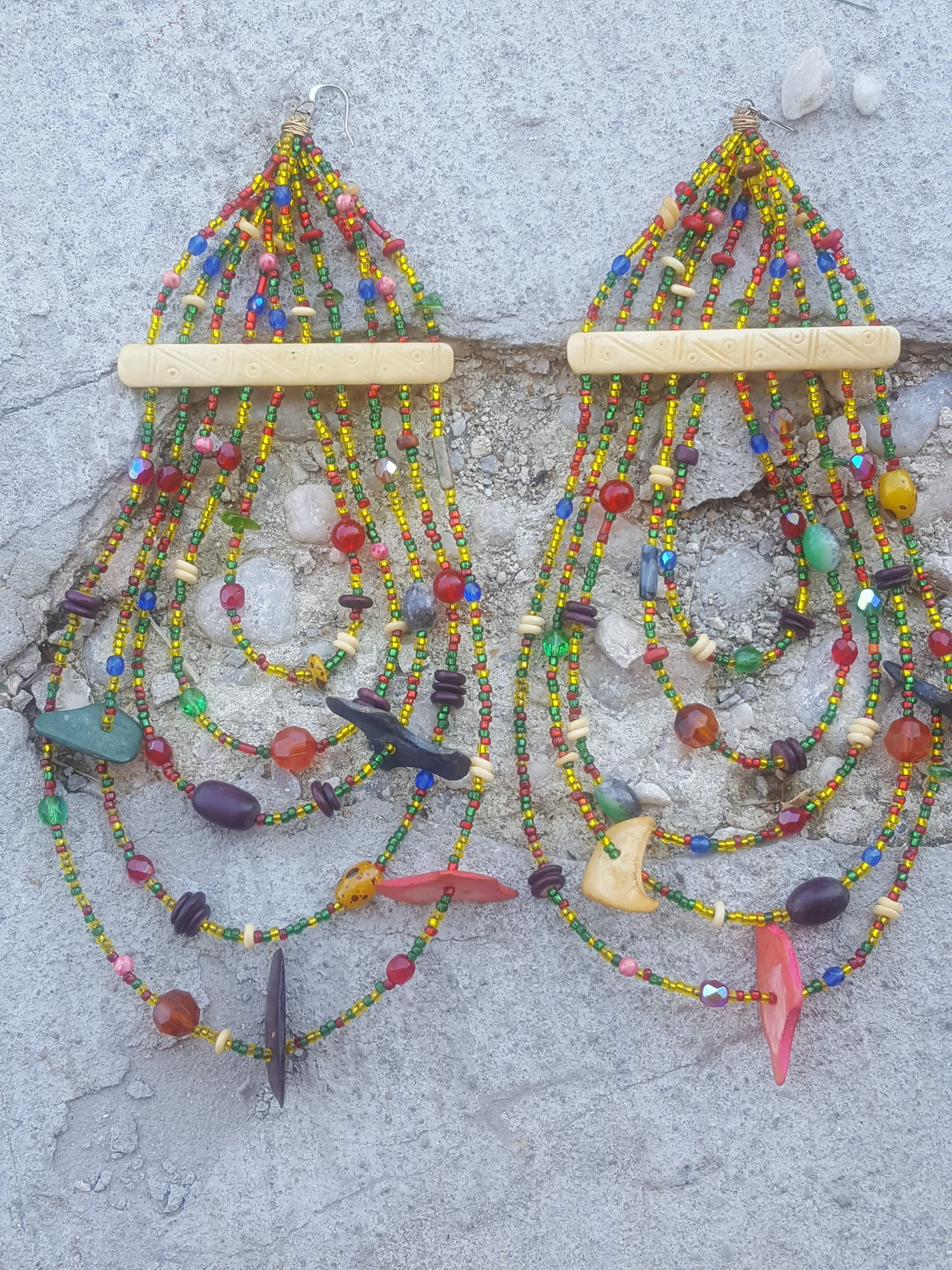 Image of Cleopatra Beaded Earrings