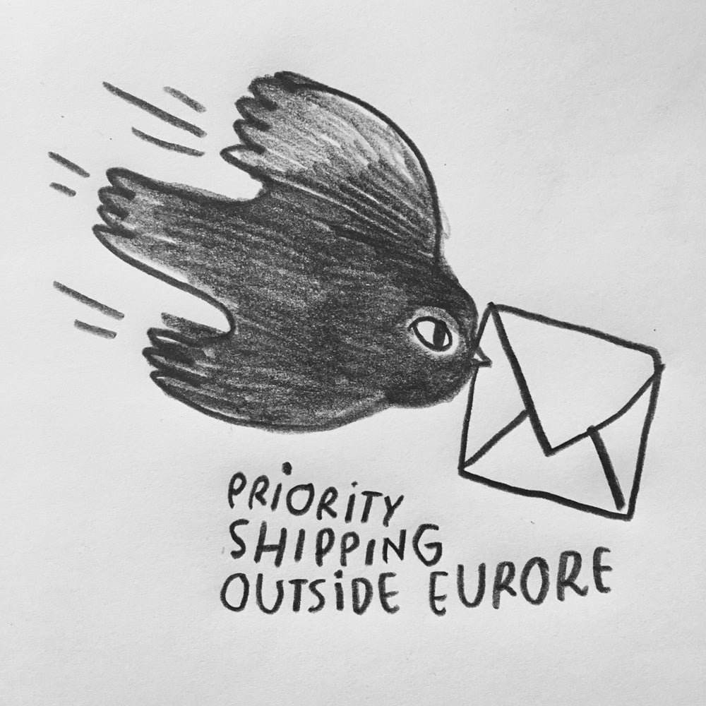 Image of Priority shipping outside Europe