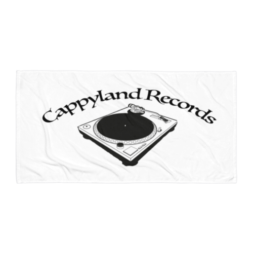 Image of Cappyland Records Beach Blanket