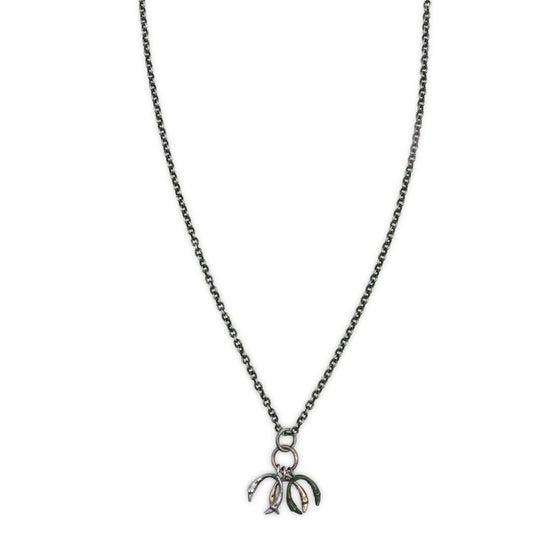 Image of triple horseshoe necklace (P1381518)