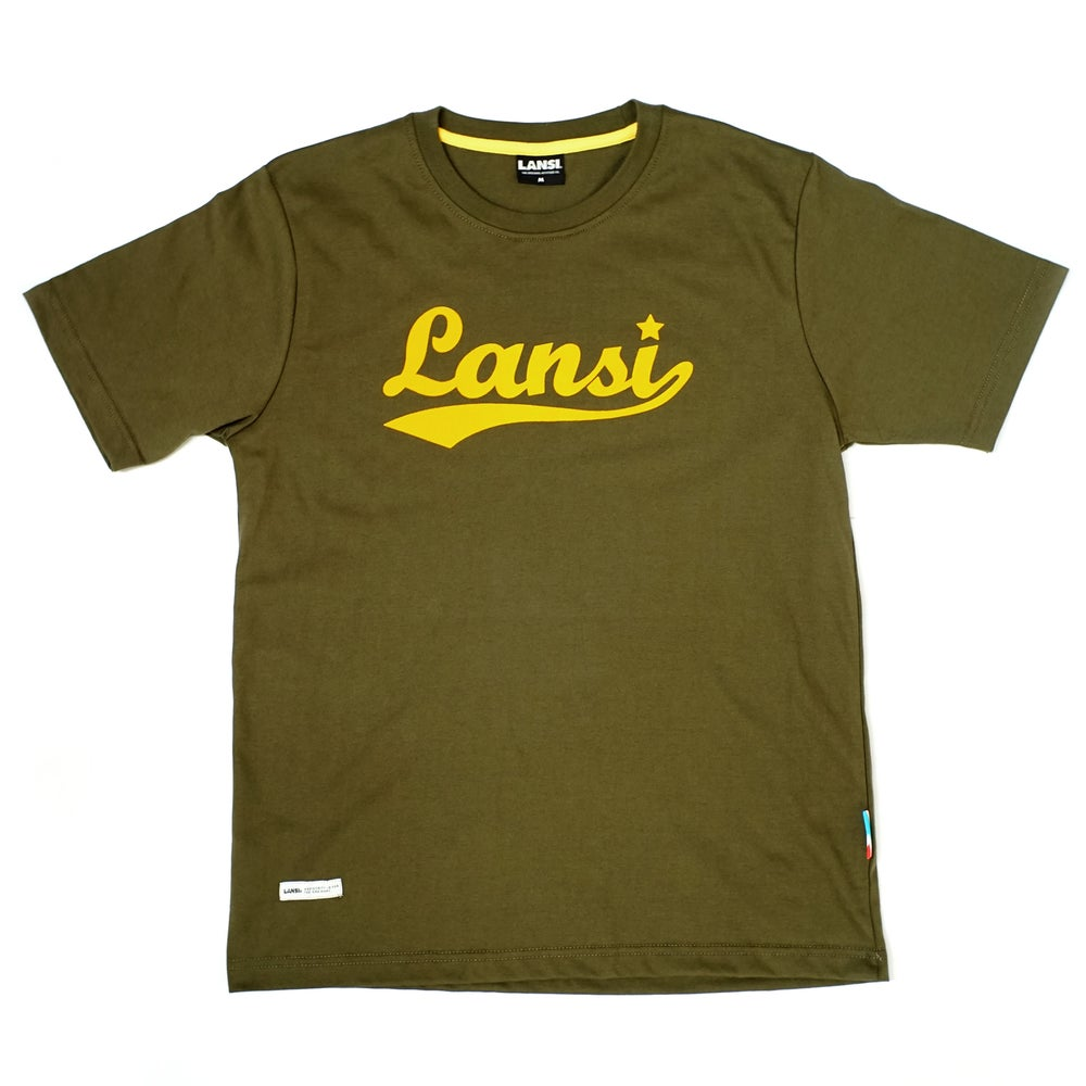 Image of LANSI Basic Tee (Olive/Yellow)