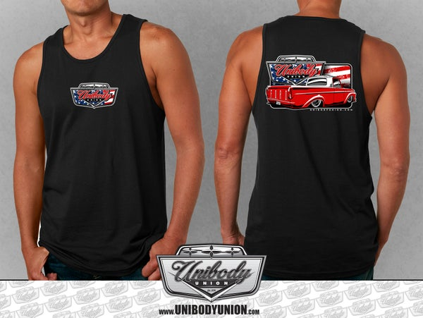 Image of Ford F100 Red, White & Blue Tank Top