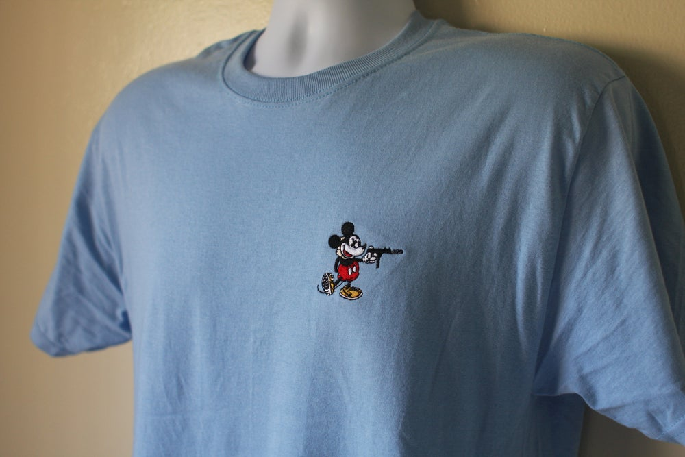 """Image of """"Reign of the Tec"""" Tee in Baby Blue"""