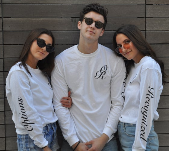 """Image of """"Either OR"""" White Long Sleeve Tee"""