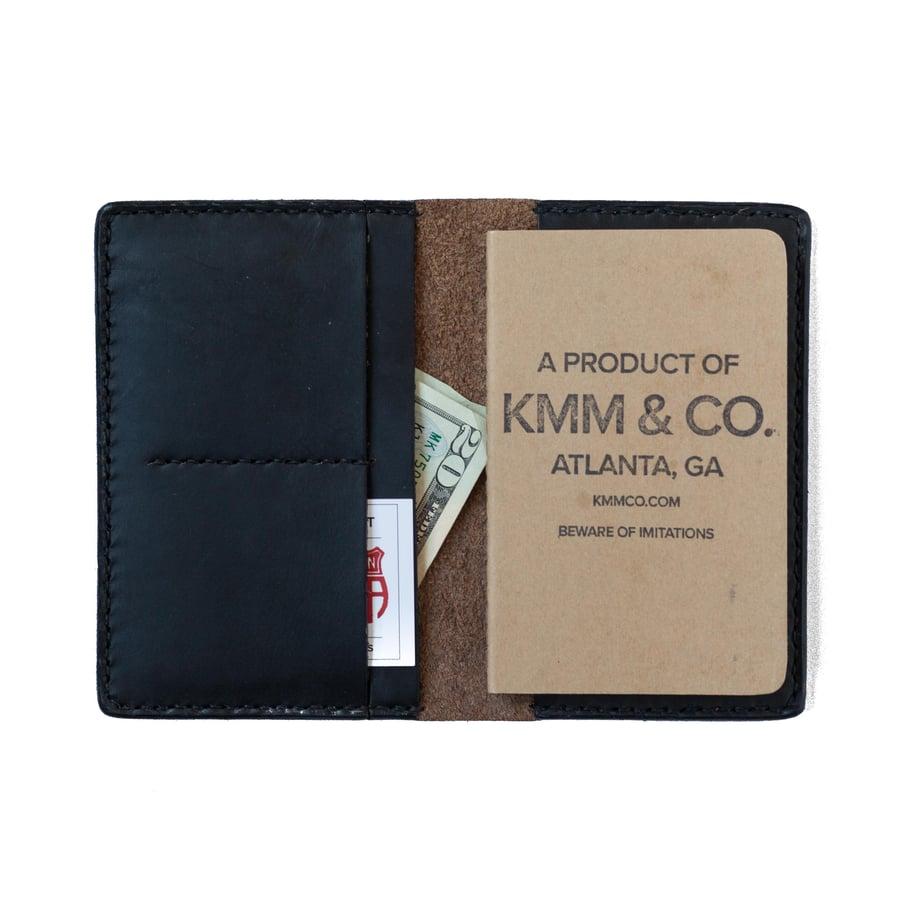 Image of Black Notebook Wallet