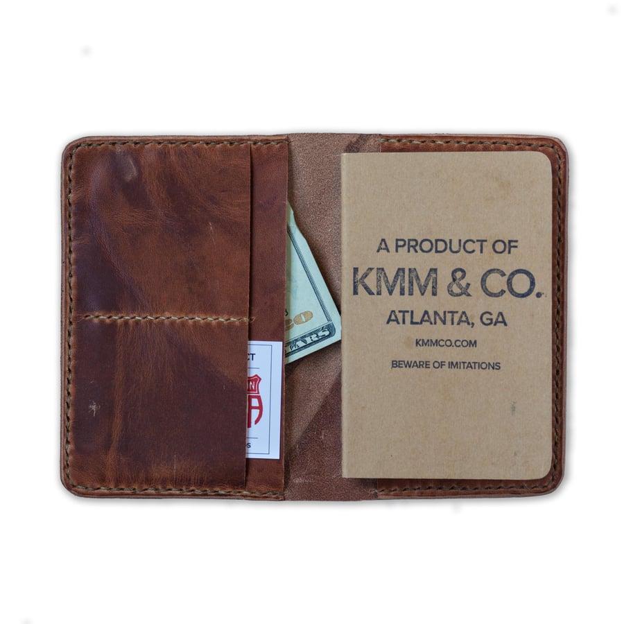 Image of Tan Dublin Notebook Wallet
