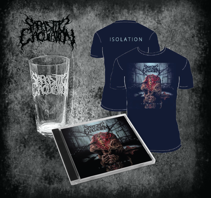 Image of Isolation CD, Shirt, Pint Glass Bundle