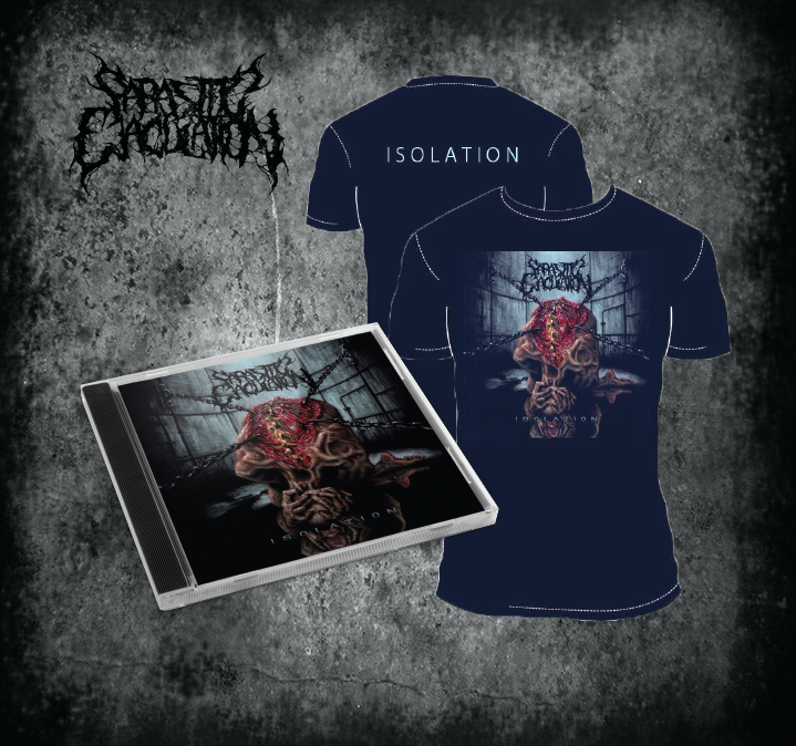 Image of Isolation CD + Shirt Bundle