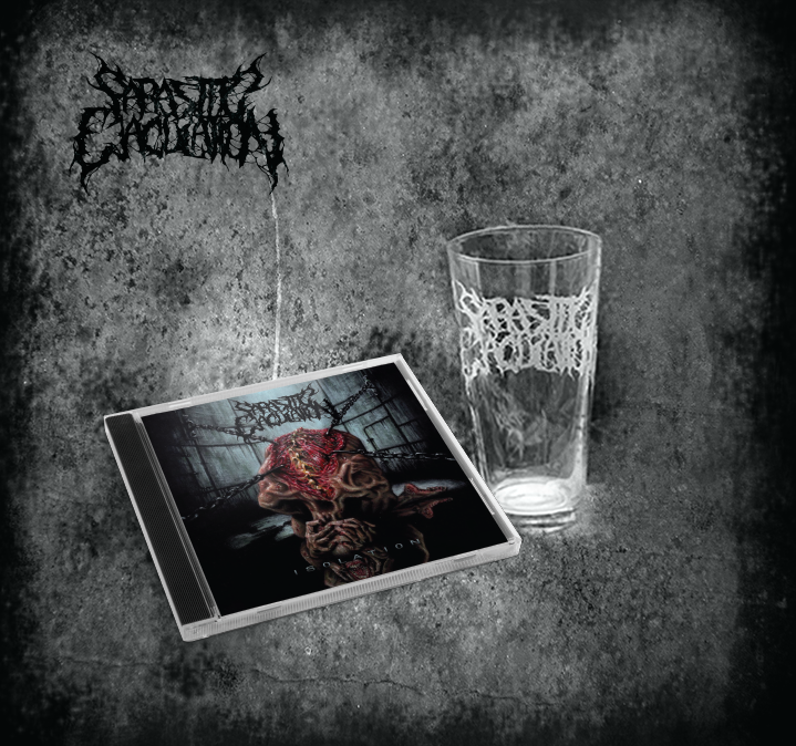 Image of Isolation CD + Pint Glass Bundle
