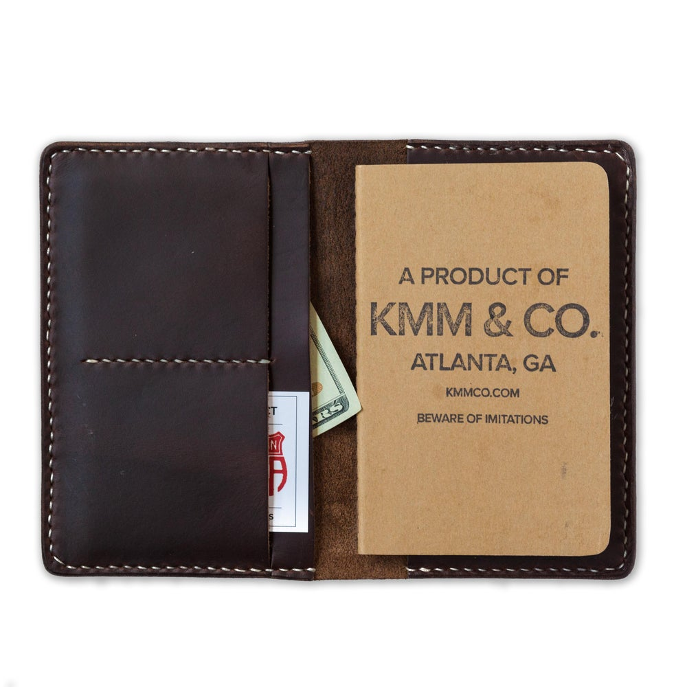 Image of Brown Chromexcel Notebook Wallet