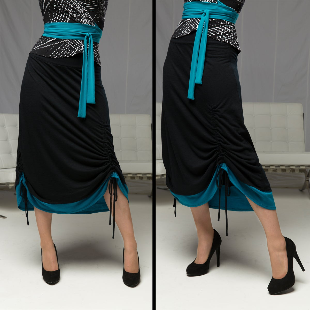 Image of PROSCENIUM DRAWSTRING SKIRT