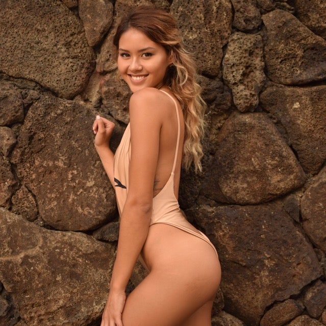 Image of NUDE SEASON 1 REVERSIBLE SWIMSUIT