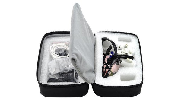 Image of Padded Zipper Cloth Bag Box Carry Case