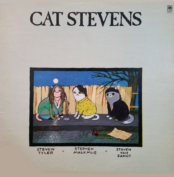 "Image of 23.""Cat Stevens: the Supergroup"" by Cassie Murphy"