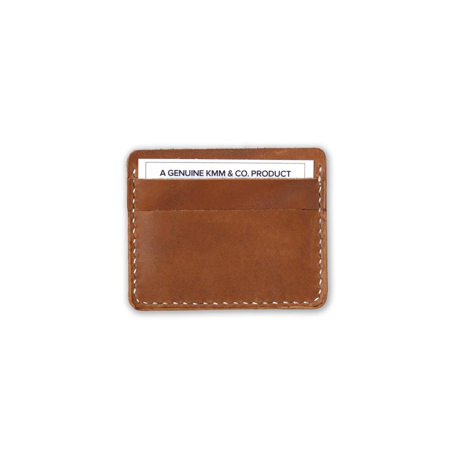 Image of Tan Card Wallet