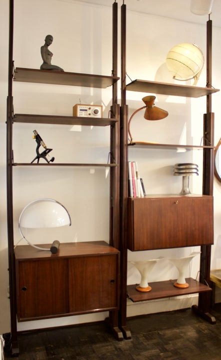 Image of Mid-Century Italian Wall Units