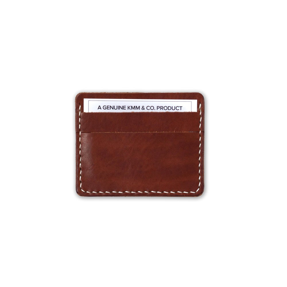 Image of Cognac Card Wallet