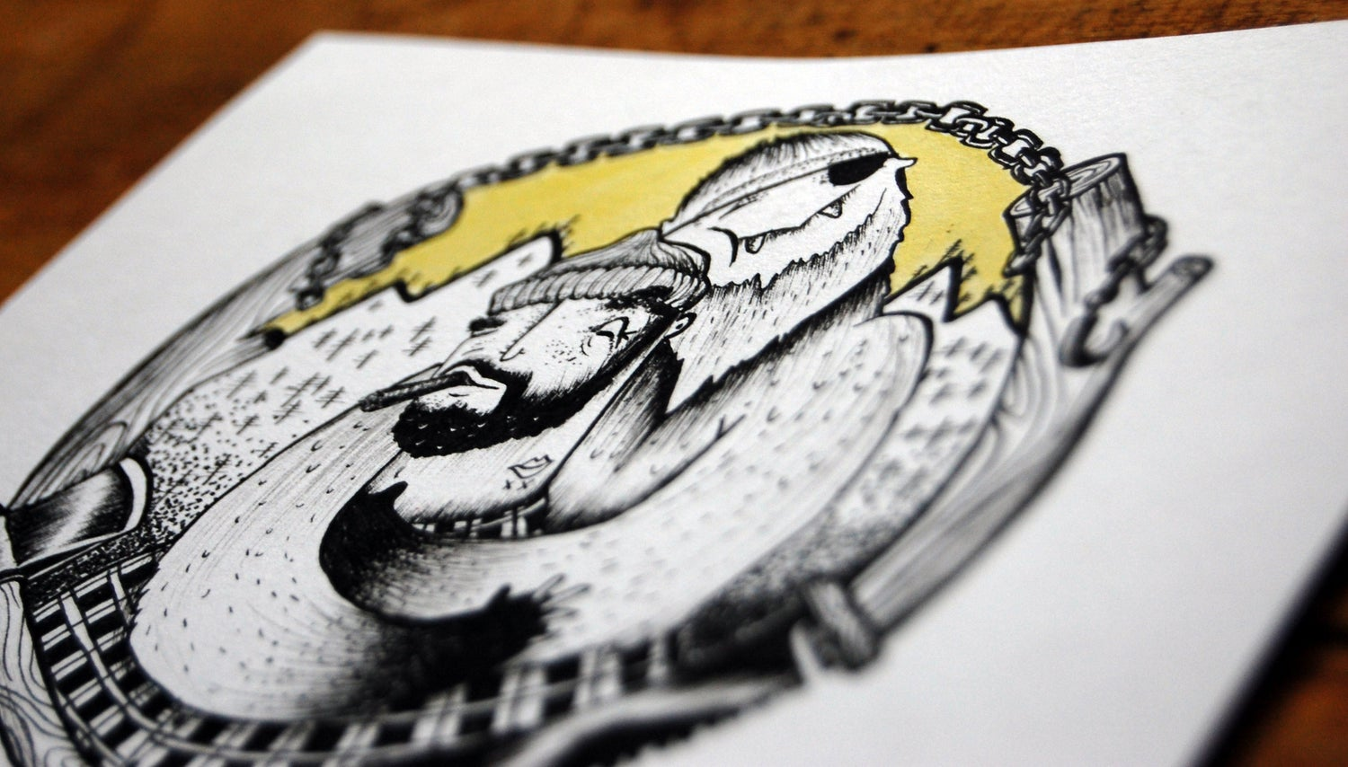 Image of THE FEATURES // ORIGINAL ARTWORKS