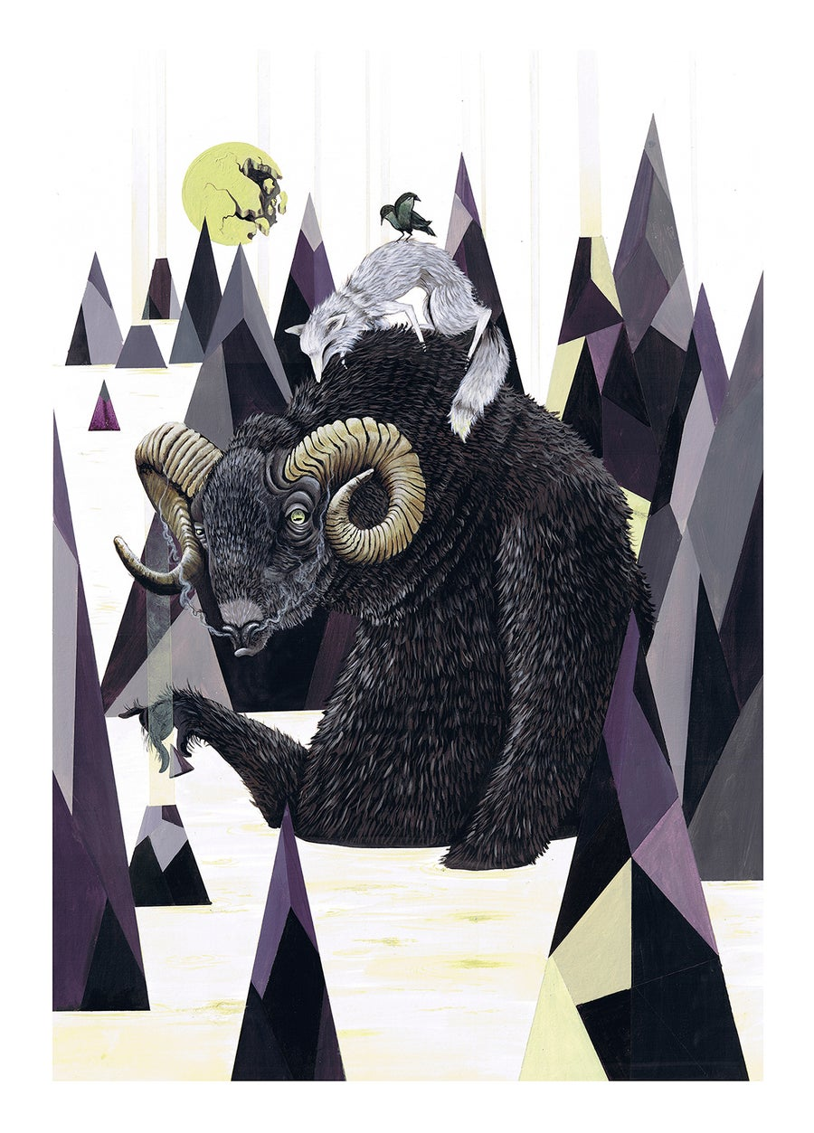 Image of RAMSTACK // LIMITED EDITION GICLEE PRINT