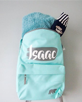 Image of Name Splash BackPack