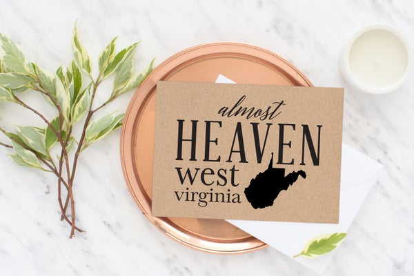 Image of Almost Heaven Greeting Card
