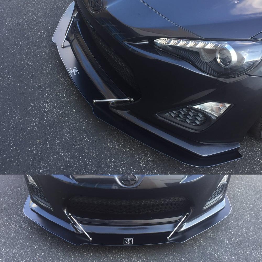 """Image of 2010-2016 Toyota FRS/BRZ """"V1"""" front splitter"""