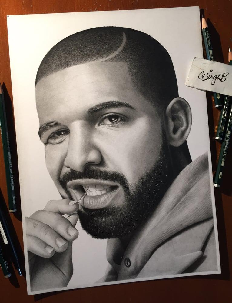 Image of Drake (Print)