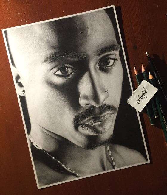 Image of 2Pac (Print)
