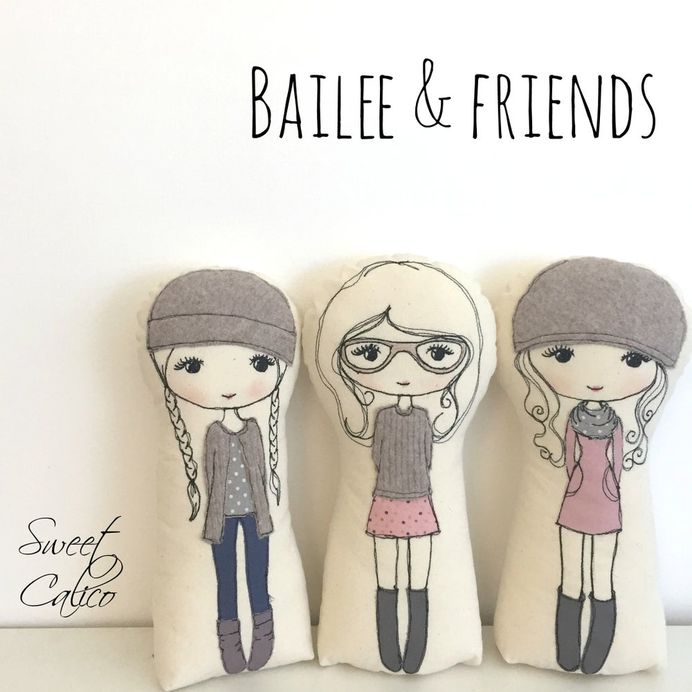 Image of Pattern for Bailee & friends