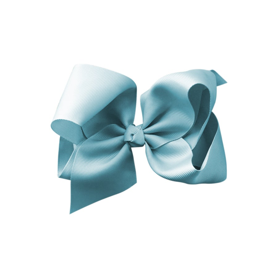 Image of Powder Blue Bow Large
